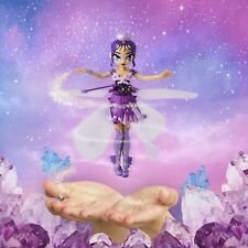 Hatchimals Pixies Crystal Flyers Purple Magical Flying Pixie Toy Doll Fairy  Kid