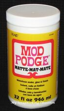 MOD PODGE (Choose from MATTE or GLOSS) Waterbase sealer, glue & finish 946ml