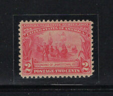 US 329 VF og NH 2c Jamestown, CV $80
