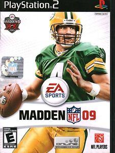 EA Sports Madden NFL '09 (PlayStation 2, NTSC U/C)