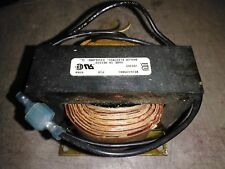 8EE26 TREADMILL CHOKE COIL: BASLER BE26439001, 0.5 OHM, FWU, VERY GOOD CONDITION