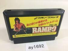 ay1692 Rambo NES Famicom Japan