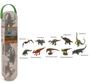 New CollectA Dinosaurs Box of 10 Mini Dinosaur Figures -1