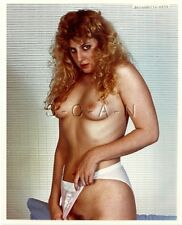 Original 1990s Nude Large (8 x 10) Photo- Blond in Bikini Panties- Bernadette