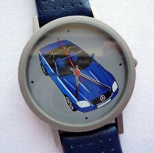 Mercedes Benz Titanium Classic SLK R170 Roadster Car Design Swiss Made Watch