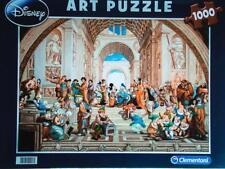 CLEMENTONI DISNEY PUZZLE THE SCHOOL OF ATHENS BY RAFFAELLO 1000 PCS #99213