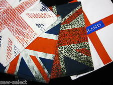 Union Jack cushion cover England Great Britain flag UK theme with zip