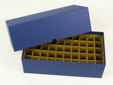COIN STORAGE BOX - NICKELS - HOLDS ROLLS & TUBES - 50 SLOTS - 11 x 5¾ x 3½