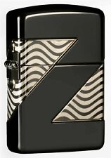 Zippo 49194, 2000 Collectible of the Year, Multi-Cut Armor, Black Ice Finish