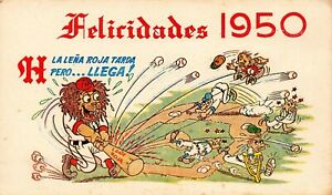 "Havana Cuba Congrads Who Ever Wins Almendaresdies 3. 65 x 6"" Souvenir Card"