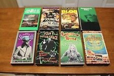 VHS Lot It Conquered the World The Blob War of the Worlds Young Frankenstein