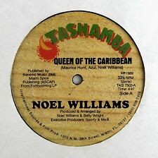 "NOEL WILLIAMS 12"" Queen Of The Caribbean TASHAMBA Rec '89 Exc HEAR"