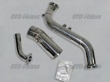 TURBO DOWN PIPE + INTAKE KIT SUIT 93-98 Toyota Supra 2JZGE  /IS300