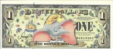 2005 $1 Dumbo Disney Dollar 🍁🐘 D Series 🐘🍁 UNC with barcode 🐘