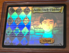 Harry Potter Tcg Chamber Of Secrets Justin Finch-Fletchley Holo Foil 32/140
