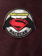 Lowes Build And Grow Batman Vs. Superman Racecar Iron-On Patch Exclusive