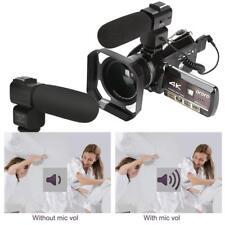 ORDRO 4K Wifi Full HD Vision Nocturne 1080P HD DVR Sports Caméscope Numérique
