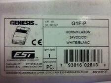 EST/Edwards Genesis G1F-P HORN 24v DC White - Fire Alarm Systems YOU-TUBE VIDEO