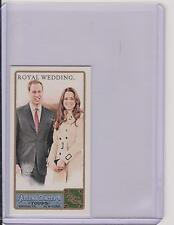 2011 ALLEN & GINTER PRINCE WILLIAM & KATE MIDDLETON ROYAL WEDDING MINI CARD #293