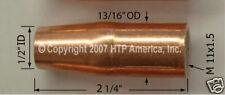 3 Spoolgun Gas Nozzles Spool gun Parts Welding Eastwood MIG175 Mig 175 Nozzle