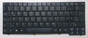 Acer deutsche Tastatur (schwarz, matt) für TravelMate 3040 Serie - 99.N4282.K0G