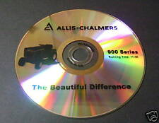 Sales DVD for Allis Chalmers 900 Lawn Tractor 910 916 917