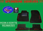 TAPPETINI tappeti Alfa Romeo 147 SU MISURA con 4 ricami e battitacco in gomma