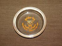 VINTAGE  TOBACCO CIGARETTES GOLDEN FOX STEAK HOUSE ALBANY NY GLASS ASHTRAY