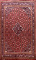Vintage Geometric Traditional Hand-knotted Area Rug Wool Oriental Carpet 10x13