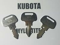 ( 3 ) Kubota M Series Keys Tractor Ignition Key # 18510-63720  Fast Shipping