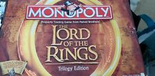 Monopoly: Lord of the Rings Trilogy Edition - Preowned, Complete