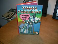 """The Transformers """"AUTOBOTS' FIGHT BACK - First Edition - Good Condition -"""