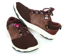 Teva Womens Arrowood Waterproof Sneakers Maroon Low Top Shoes 1012450 Size 9