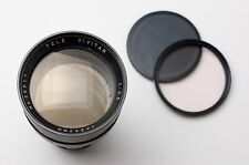 Tele Vivitar 200mm f3.5 Telephoto Lens Caps & Filter M42 NEX Micro 4/3 (#1886)