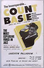 1975 Count Basie Boxing Style Poster.