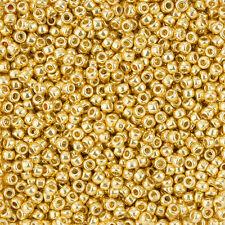 Toho 3mm Round Size 8/0 Seed Beads Permafinish Galvanized Starlight 10g (l43/4)