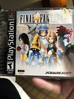 Final Fantasy IX 9 (Sony PlayStation 1, 2000) PS1 Black Label Sony No Book 👀📷