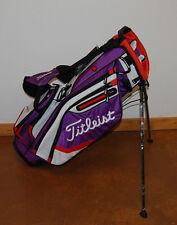 MINT Titleist Golf 2016 Lightweight Stand Bag Purple/Gray/FireRed TB5SX6-526