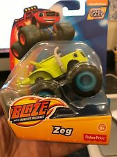 Fisher Price Blaze and the Monster Machines Zeg Diecast Car