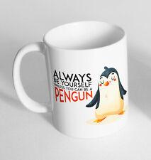 Penguin Funny Design Novelty Gift Idea Coffee Tea Mug 279