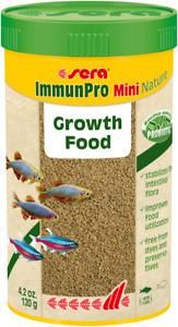 Sera ImmunPro Mini Nature 120g Probiotic Growth Food for Ornamental Fish Granule