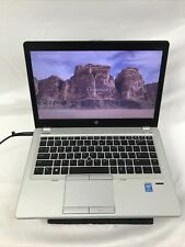 HP Elitebook Folio 9480m Core i7-4600U @2.1GHz 237GB SSD, 8GB RAM Windows 10 Pro