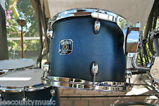 "GRETSCH 12"" CATALINA MAPLE SATIN BLUE BURST RACK TOM for YOUR DRUM SET! #T276"