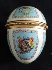 Halcyon Days Enamels 1990 Easter Egg Trinket Box