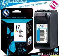 TINTA TRICOLOR 17 ORIGINAL IMPRESORAS HP CARTUCHO COLOR HEWLETT PACKARD C6625A