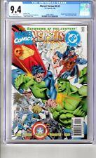 DC vs MARVEL #3 9.4 CGC WP ' 1st..App..AMAZON..Ya BABY'.Let..the..ACTION BEGIN!