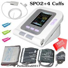 Misuratori pressione arteriosa Sfigmomanometro elettronico SPO2 NIBP + 4 polsini