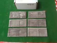 N scale fine detail brick wall kit - 6 pcs painted and weathered