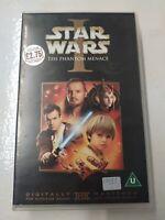 VHS Big Box Ex Rental Tape Star Wars Episode 1 Phantom Menace 1999 Prequel