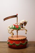 1986 Vintage Enesco Carousel Horse Music Box Memories